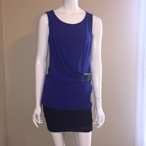 Michael Kors sleeveless blouse size M